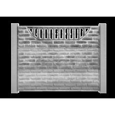 Еврозабор серый № 6