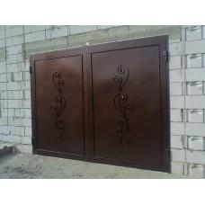 Кованные ворота № 5