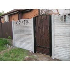 Кованные ворота № 6