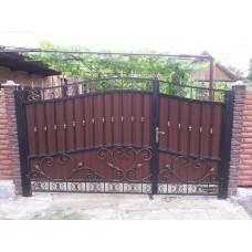 Кованные ворота № 7