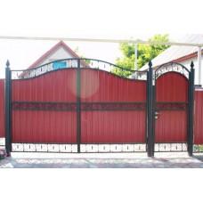 Кованные ворота № 8