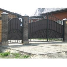 Кованные ворота № 9