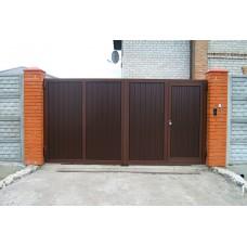 Кованные ворота № 10
