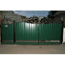 Кованные ворота № 11