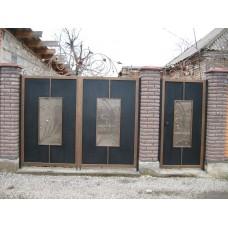 Кованные ворота № 12