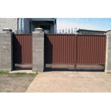 Кованные ворота № 15