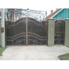Кованные ворота № 17