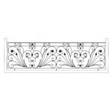Кованные балконы №3