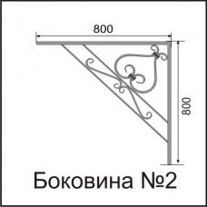 Боковины козырьков № 2