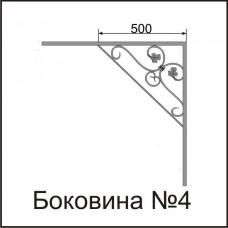 Боковины козырьков № 4