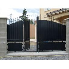 Ворота из профлиста №3