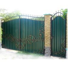 Ворота из профлиста №6
