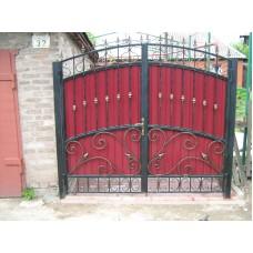 Ворота из профлиста №11