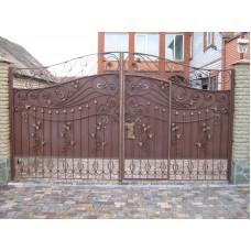 Ворота из профлиста №12