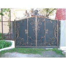 Ворота из профлиста №13