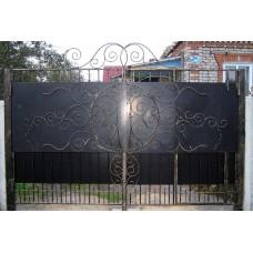 Ворота из профлиста №26