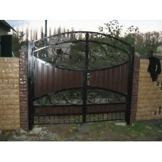 Ворота из профлиста №17