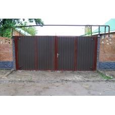 Ворота из профлиста №21