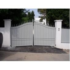 Ворота из профлиста №25