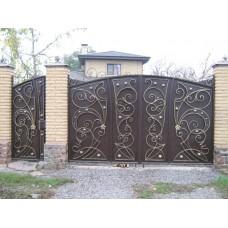 Ворота из профлиста №28