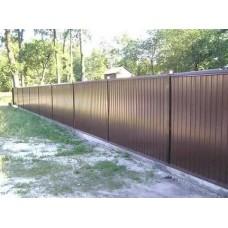 Забор из профлиста №33