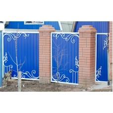 Ворота из профлиста №33