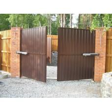 Ворота из профлиста №36