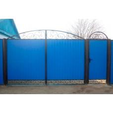 Ворота из профлиста №43