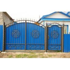 Ворота из профлиста №44