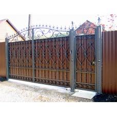 Ворота из профлиста №48