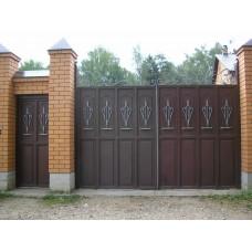 Ворота из профлиста №49