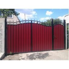 Ворота из профлиста №50