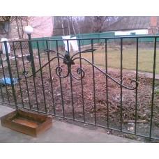 Кованный забор 3