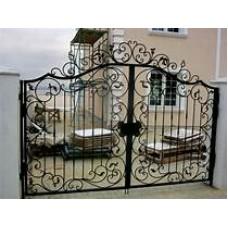 Кованные ворота Ажур