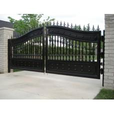 Кованные ворота №55
