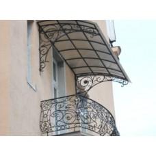 Фасады козырьков № 12