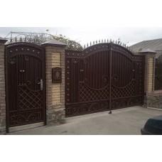 Кованные ворота №58