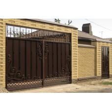Кованные ворота №60