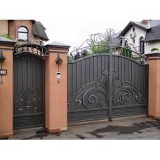 Кованные ворота №62