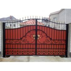 Кованные ворота №63