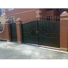 Кованные ворота №64