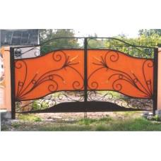 Кованные ворота №65