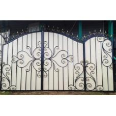 Кованные ворота №66