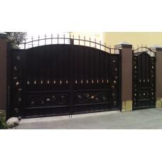 Кованные ворота №67