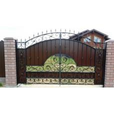 Кованные ворота №69