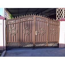 Кованные ворота №71
