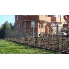 Кованный забор 45