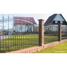 Кованный забор 46