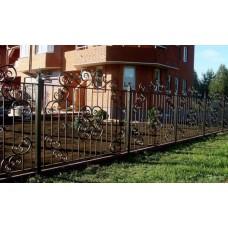 Кованный забор 47