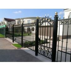 Кованный забор 48